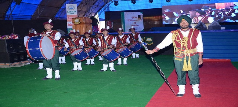 School Band Performing in Samman 2014